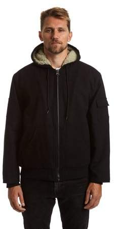 Stanley Big Men's Full Zip Canvas Jacket with Sherpa Lining