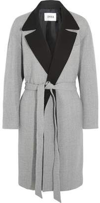 Issa Robbie Brushed Wool-Blend Coat