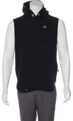 c921f74f5539 Beams x Champion Sleeveless Zip-Accented Hoodie