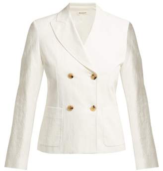 Masscob Walter Double Breasted Blazer - Womens - White