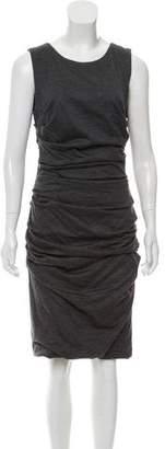 Dolce & Gabbana Wool Ruched Dress