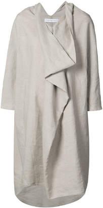 The Celect draped oversized dress