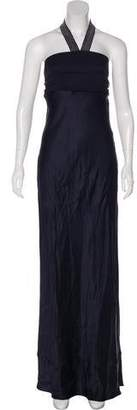 Brunello Cucinelli Silk Evening Dress