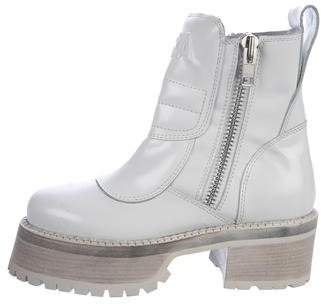 Hood by Air Centaur Leather Boots