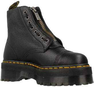 Dr. Martens Womens Sinclair Leather Boots 7 US