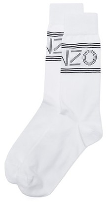KENZO Kenzo Sport Jacquard Socks $30 thestylecure.com