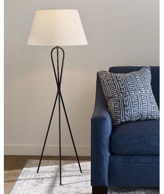 "ED Ellen Degeneres crafted by Generation Lighting Francis 56"" Tripod Floor Lamp crafted by Generation Lighting"