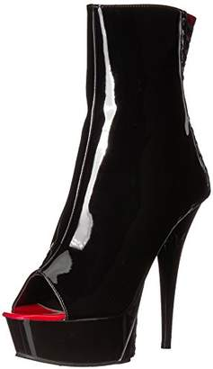 Pleaser USA Women's Delight-1025 Ankle Boot