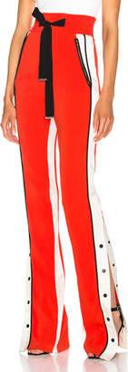 David Koma Side Snap Trouser Pants