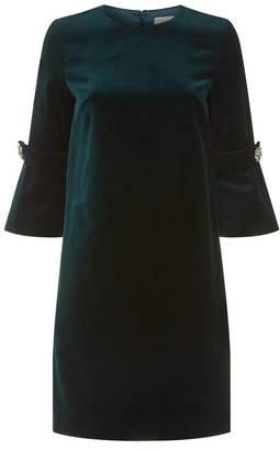 Goat Germaine Velvet A-Line Dress