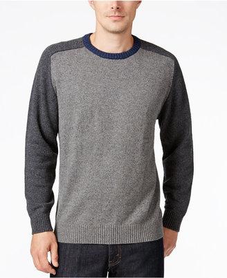 Tricots St. Raphael Men's Colorblocked Sweater $90 thestylecure.com