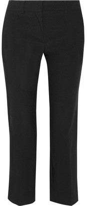 Helmut Lang - Cropped Wool-blend Straight-leg Pants - Black $415 thestylecure.com