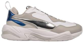 Puma Gray/white/blue Thunder Electric Sneakers