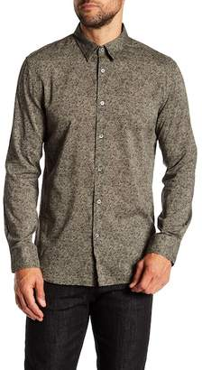 John Varvatos Collection Classic Fit Patterned Shirt