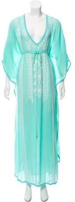 Melissa Odabash Embroidered Maxi Dress