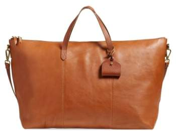 Madewell 'Transport' Weekend Bag - Brown