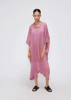 Pleats Please Issey Miyake Playing Stripe Jumpsuit