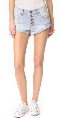 One Teaspoon Florence Bandit Shorts $99 thestylecure.com