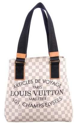 Louis Vuitton Damier Azur Beach Cabas PM