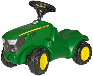 John Deere Rolly Toys 6150R Mini Tractor with Opening Bonnet