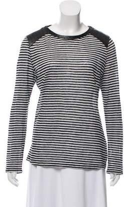 Townsen Linen Striped Top