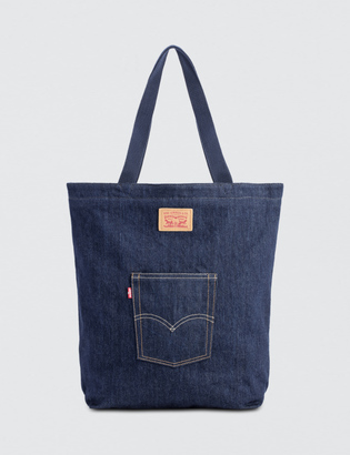 Levi's Updated Denim Tote $39 thestylecure.com
