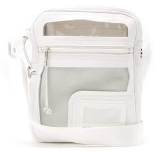 Maison Margiela Decortique Leather Cross Body Bag - Mens - White