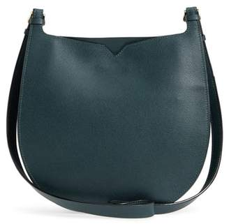 Valextra Weekend Medium Leather Hobo