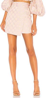 LPA Asymmetrical Mini Skirt