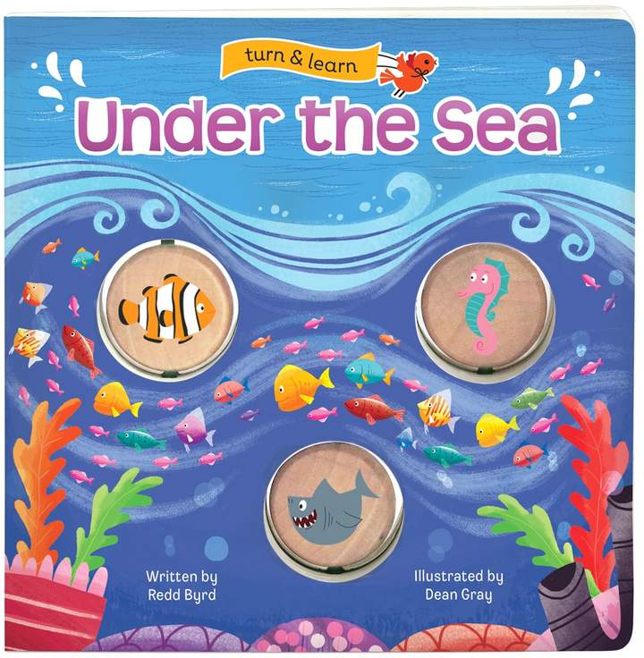 Cottage Door Press Under the Sea: Turn & Learn Board Book
