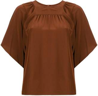 Chloé flared sleeve top