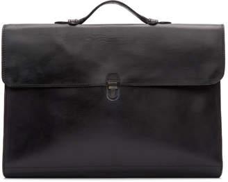 Cherevichkiotvichki Black Messenger Bag