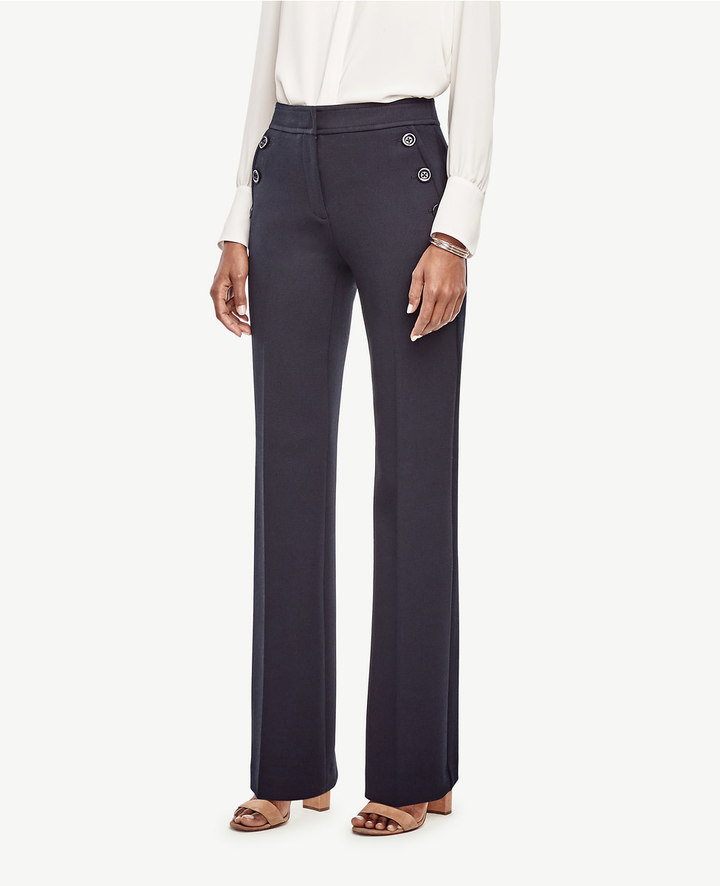 Ann TaylorPetite Flare Sailor Pants