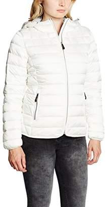Napapijri Women's Aerons Woman A Jacket, Grey (Ivory), (Manufacturer Size: Large)