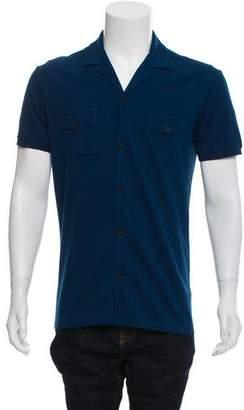 Gucci Short Sleeve Knit Shirt