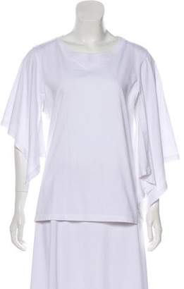 J.W.Anderson Long Sleeve Scoop Neck Top