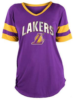 5th & Ocean Women's Los Angeles Lakers Mesh T-Shirt