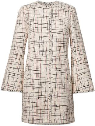 Banana Republic Italian Tweed Car Coat