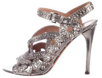 Alaia Stud-Embellished Multistrap Sandals