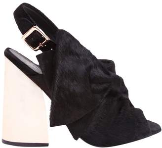 Ivy Kirzhner Women's Beau Suede High Heel Sandal