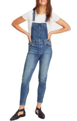 Free People Ankle Skinny Fit Overalls