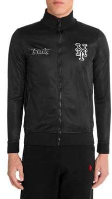 Marcelo Burlon County of Milan NY Mets Track Jacket