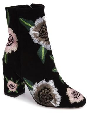 Women's Rebecca Minkoff Bryce Flower Embroidered Bootie