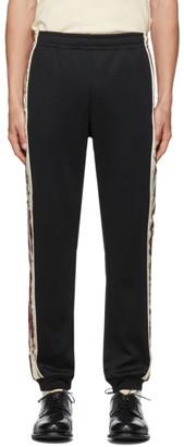 Gucci Black Cotton Lounge Pants