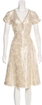 Marc by Marc Jacobs Short-Sleeve Midi Dress