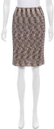 Missoni Knit Knee-Length Skirt