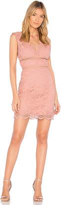 J.o.a. Open Back Lace Dress