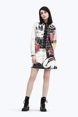 Marc Jacobs Mickey Mouse Denim Mini Skirt