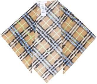 Burberry check bandana