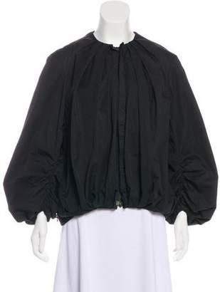 Lanvin Pleated Zip Jacket